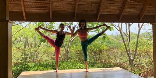 Beach, Barre, Yoga, Surf: Costa Rica w/Justine & Connie