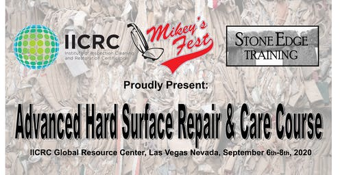 Advanced Hard Surface Repair & Care Course