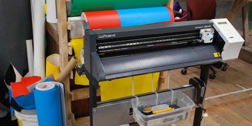 Digital Design for Makers: Vinyl Cutter