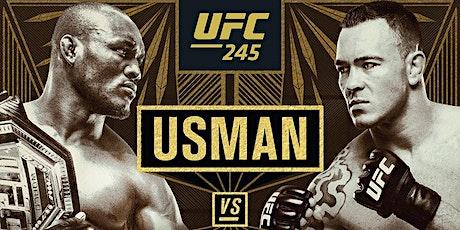 UFC 245, Three Title Fights tickets