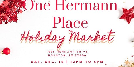 One Hermann Place Holiday Market tickets