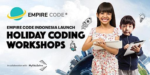 (PAID) Empire Code Indonesia Holiday Coding Workshops - Jakarta Barat