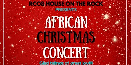 African Christmas Concert tickets
