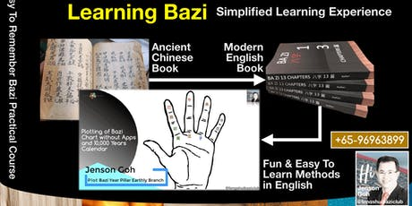 Easy To Learn Bazi Formula | 14th & 15th Dec 2019 | East Gate tickets