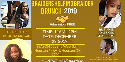 Braiders helping braider brunch 2019