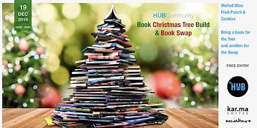 HUBCommunity - BOOK Christmas Tree Build & Book Swap