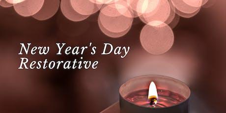 New Year's Day Restorative Yoga Workshop tickets
