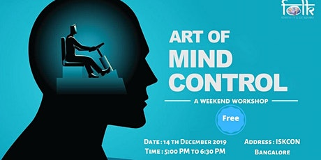 Art of Mind Control- Free Workshop at ISKCON Temple tickets