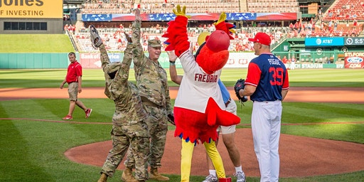 Military Appreciation Day with the St. Louis Cardinals