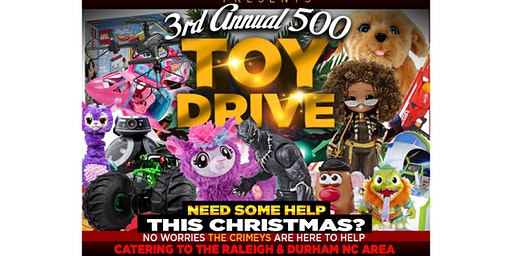 500 CRIMEY TOY DRIVE