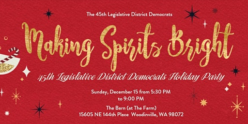 45th Legislative District Democrats Holiday Party