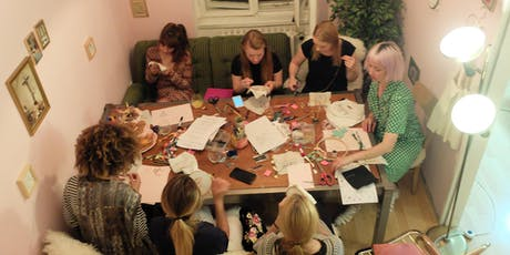 Stitch A Christmas Gift - Illustrative Hand Embroidery Workshop by Umamade.co tickets