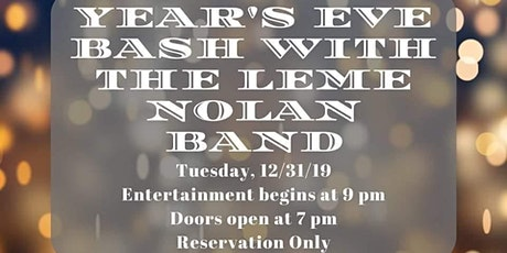 New Year's Eve Dance Party at Tails Piano Bar - Leme Nolan tickets