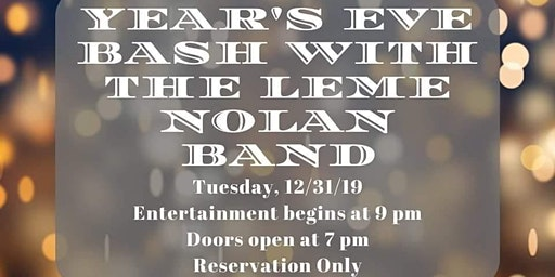 New Year's Eve Dance Party at Tails Piano Bar - Leme Nolan