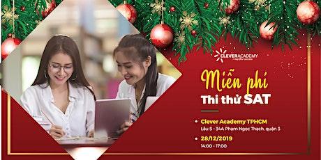 Miễn phí thi thử SAT tháng 12 tại TPHCM tickets
