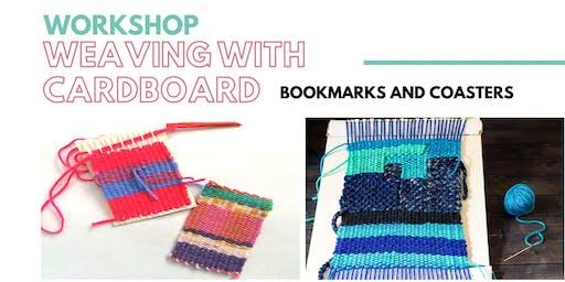 DIY Workshop - Weaving Coasters and Bookmarks - Dec 21 2019