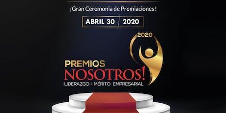 Premios Nosotros 2020 4ta edición tickets
