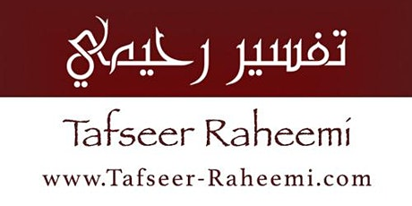 Spiritual I'tikaaf Programme in the Company of Shaykh Abdul Raheem Limbada tickets
