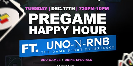 UNO-N-RNB Pregame Happy Hour with Quiet Storm Tuesdays @ Exodos | 7:30pm-2a tickets