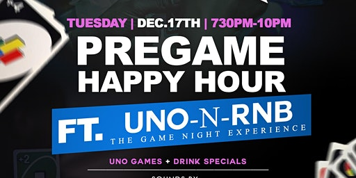 UNO-N-RNB Pregame Happy Hour with Quiet Storm Tuesdays @ Exodos | 7:30pm-2a