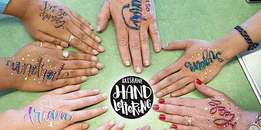 Brisbane Hand Lettering October Meet-up