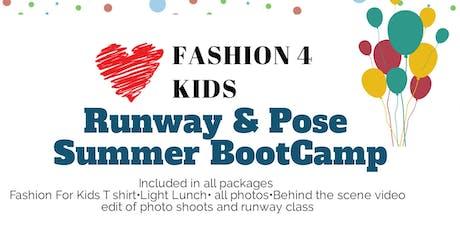 New York FASHION FOR KIDS SUMMER ACADEMY  tickets