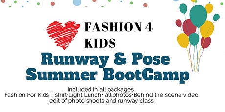 New York FASHION FOR KIDS SUMMER ACADEMY  tickets