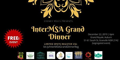 InterMSA Grand Dinner tickets