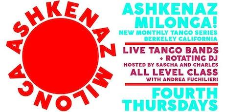 Ashkenaz Milonga  tickets