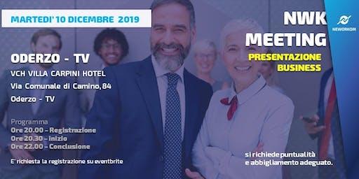 MEETING PRESENTAZIONE BUSINESS - NEWORKOM COMMUNITY - ODERZO (TV)