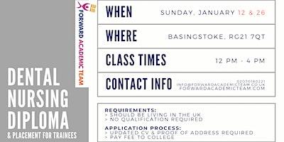 Dental Nursing Diploma/Courses in Basingstoke-Janu