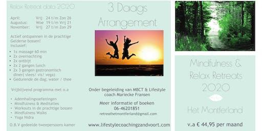 Mindfulness & Relax Retreat voor Vrouwen