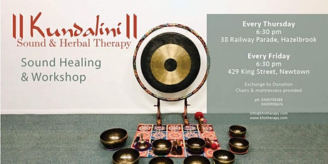 Kundalini Sound Healing with Chaitanyashree *Weekly* tickets