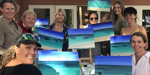 Paint the Ocean by the Ocean on Rottnest