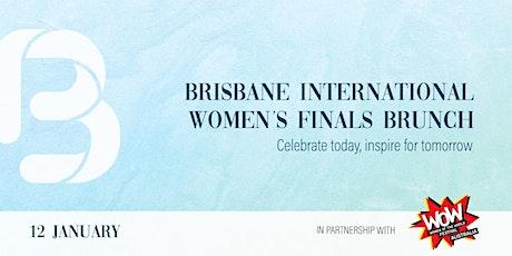 Brisbane International Women's Finals Brunch tickets