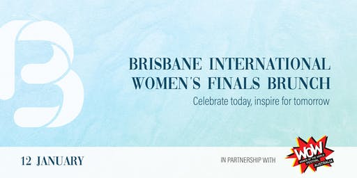 Brisbane International Women's Finals Brunch