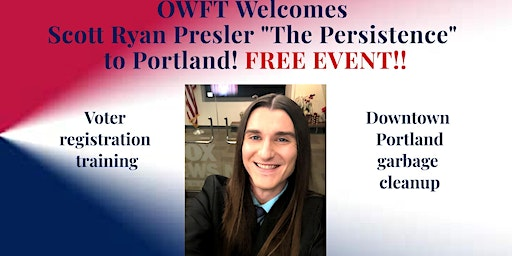 OWFT Welcomes Scott Ryan Presler to Portland