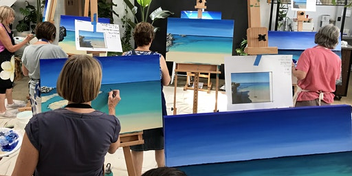 Paint the Ocean One Day Workshop