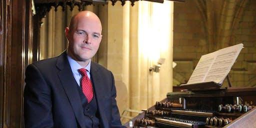 Organ recital with Matthew Owens