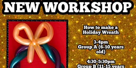 How to make a Balloon Wreath tickets