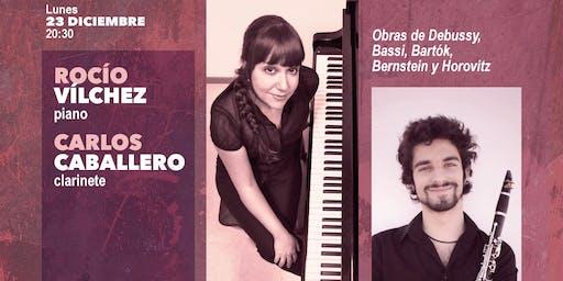 Rocío Vílchez, piano- Carlos Caballero, clarinete