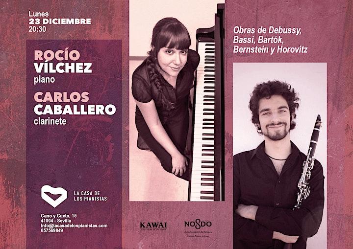 Imagen de Rocío Vílchez, piano- Carlos Caballero, clarinete