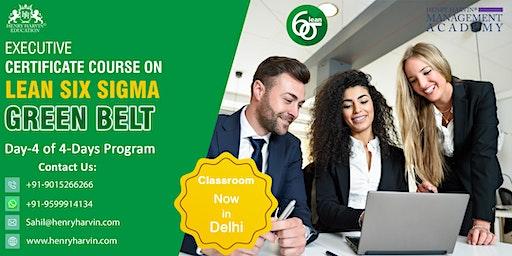 Day 4 Lean Six Sigma Green Belt Course in Delhi