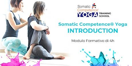 Somatic Competence Yoga Introduction | Formazione Breve per insegnanti yoga biglietti