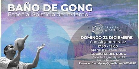 Baño de Gong - Especial Solsticio de Invierno entradas
