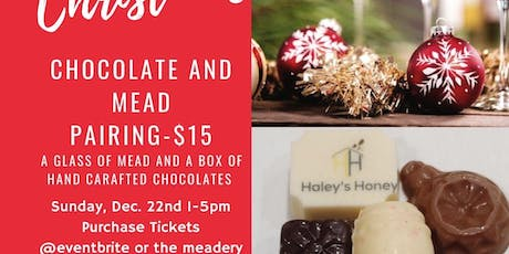 Christmas Chocolate and Mead pairing tickets