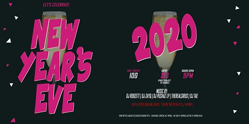 (NEW YEARS EVE) NYE 2020 PARTY