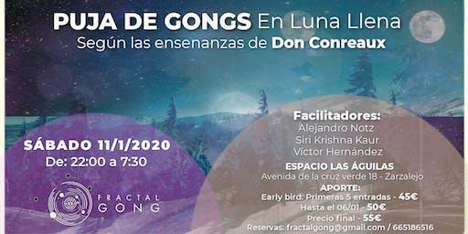 Puja de Gongs en Luna Llena