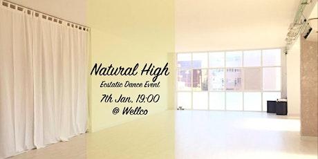 Natural High - Ecstatic Dance entradas