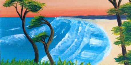 Paint and Sip at Bar Spritz Kangaroo Point Cliffs Wesley Taylor tickets